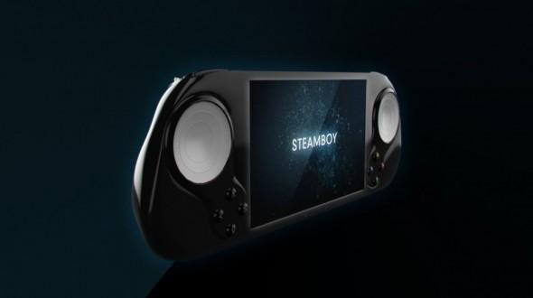 SteamBoy, la fel ca PS Vita dar pentru jocuri Steam