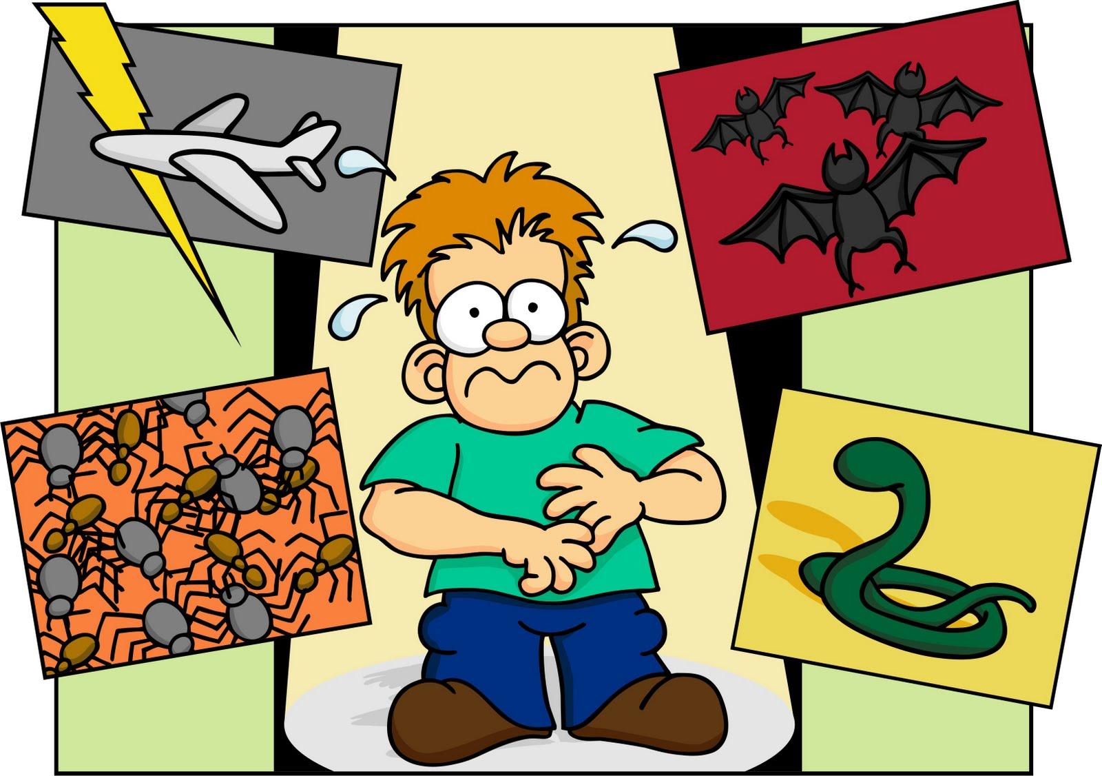 Cele mai comune si cele mai rare fobii