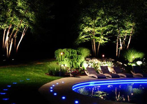 Peisaj mirific pe timp de noapte